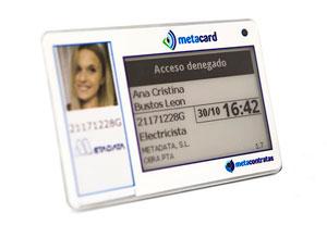 tarjeta identificativa