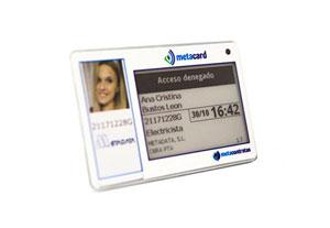 tarjeta identificativa inteligente