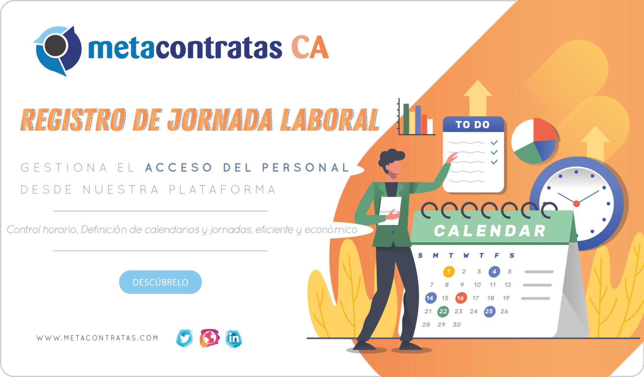 cartel registro de jornada laboral