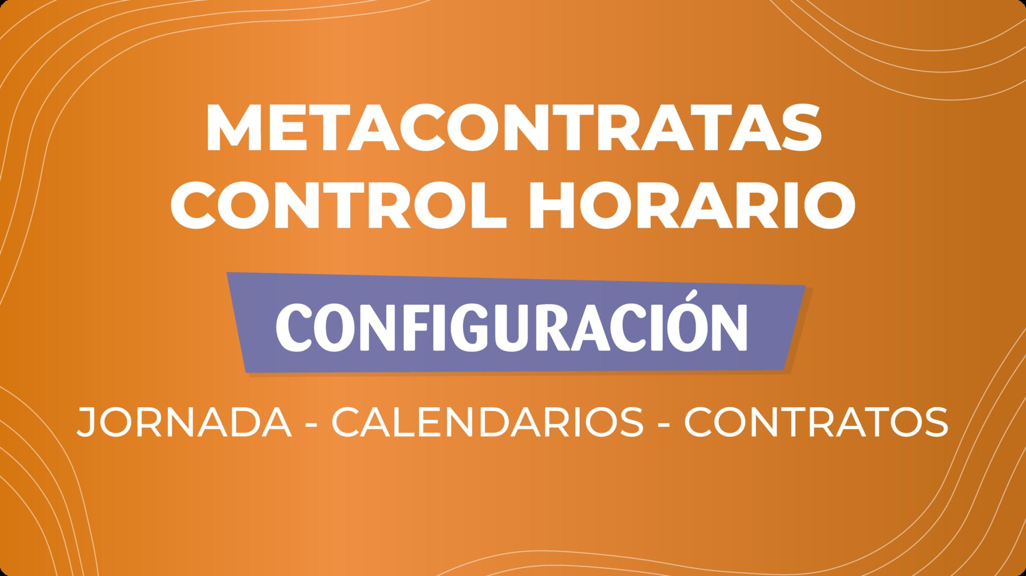tutorial control horario configuración