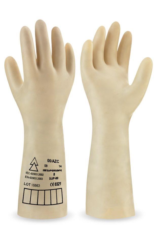 guantes protección eléctrica