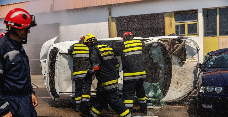 Accidente de coche in itinere