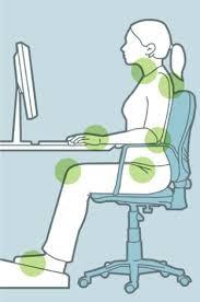 silla postura ergonomica